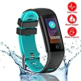 New Smart Fitness Tracker, Smart Watch with Sport Mode Blood Pressure Heart Rate