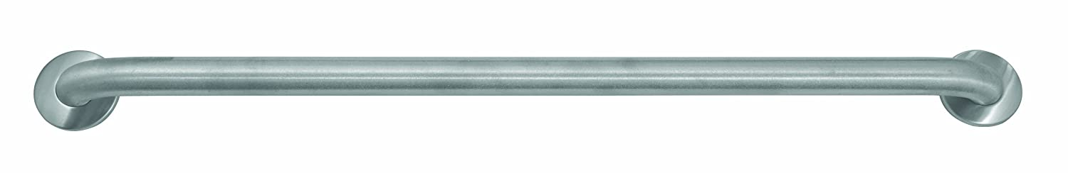"""Bradley 8122-001420 Heavy Duty Stainless Steel Safety-Grip Grab Leiste mit Concealed Mounting, 1-1/2"""" Od X 42"""" Length"""
