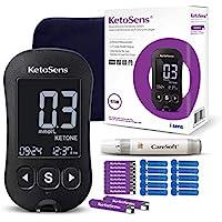 KetoSens Blood Ketone Monitoring Starter Kit + FREE APP: Ideal for Keto Diet. Includes Meter, 10 Ketone Test Strips, 10…