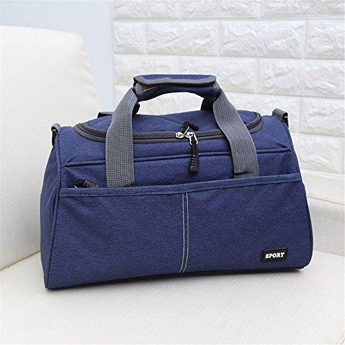 Viaggio Di I Fitness Borsa Sacchetto Blue Capacità Breve Blu deep Da A Per Viaggio Bagagli In Profondo Grande Mano 8Iw7Fqd