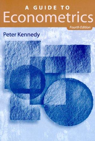 A Guide to Econometrics - 4th Edition