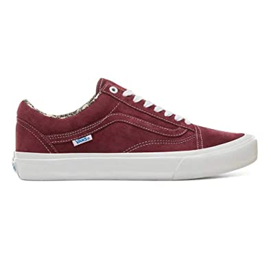 Burgunty Amazon Old Scarpe Barbee Og Ray it Pro Vans Skool S40qCw