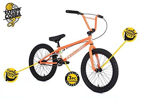 Eastern Cobra Bmxバイク2018自転車オレンジ B077P2134Y