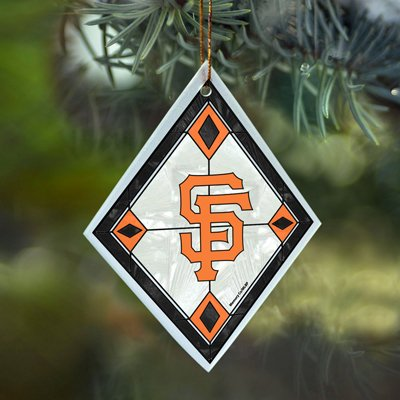 San Francisco Giants Stained Glass Ornament