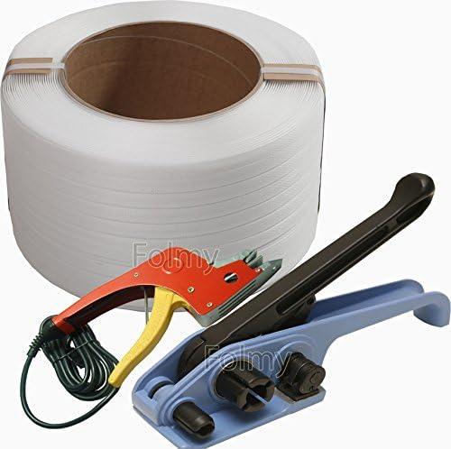 Bandspanner Einhebelspanner Umreifungsgerät 12-19mm mit Verschlusszange GOOD