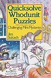 Quicksolve Whodunit Puzzles, Jim Sukach, 080690884X