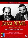 Java XML Programmierung professionell.Web-Applikationen erstellen mit Java Servlets, JSP, HTML, XHTML, JBDC