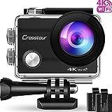 Crosstour Action Camera 4K Wifi...