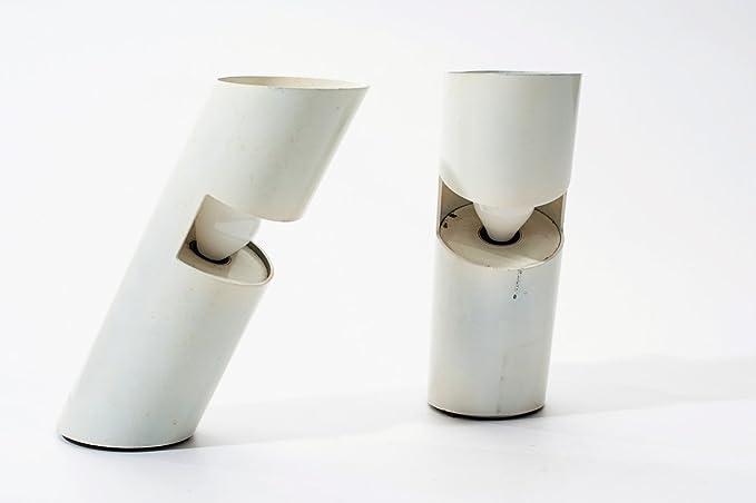 Coppia di lampade da tavolo designer salvati tresoldi produttore