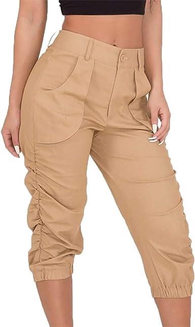 FELZ Pantalones Mujer Pantalones Cortos Mujer Verano ...