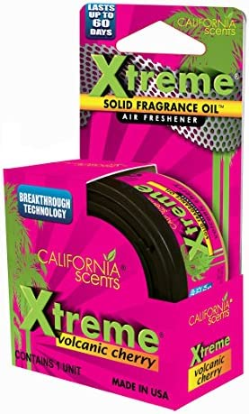 Amazon.es: California Scents EXTM-CAN-B607 Extreme Ambientador con Aroma a Cereza, 6 Unidades