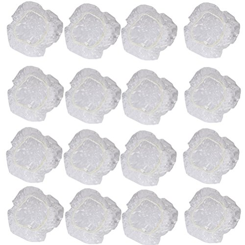 Foxnovo 100pcs Disposable Shower Water Ear Protector Cover