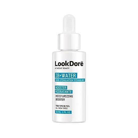 Lookdoré - IB+ Water Booster - Serúm Hidratante Instantáneo - Regenera la piel seca - Componentes naturales