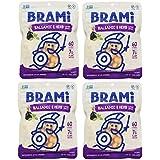 BRAMI Lupini Bean Snack, Balsamic & Herb   Plant Protein, Vegan, Gluten-Free, Low Calorie, Keto, Lightly Pickled, Mediterranean Legume   5.3 oz (150g), 4 Count