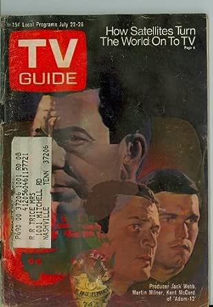 1972 TV Guide Jul 22 Adam 12 (moisture) - Nashville