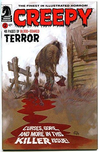 CREEPY #2, NM, Russ Heath, Eric Powell, Muscle Car, Curse, 2009, Horror]()