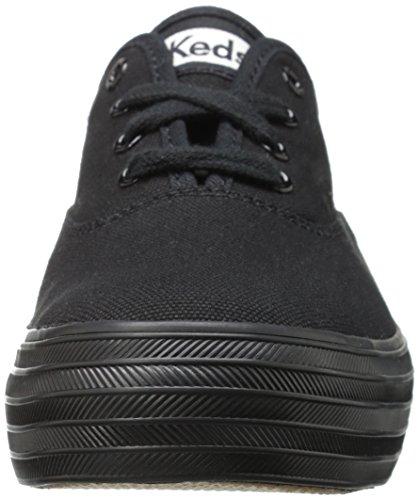 Keds Mujer Zapatillas Triple de Black Entrenamiento Black para Negro zqawzCrf