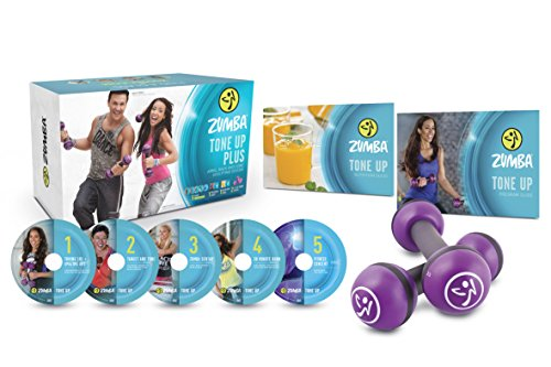 Zumba Fitness Tone Up DVD - Step Up Movies Box Set