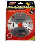"""4-1/2"""" Dry Diamond Blade"""