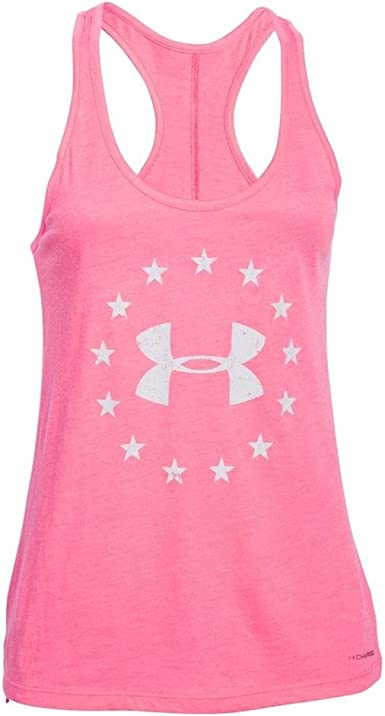 Under Armour Womens Armor Charged Cotton Tri-Blend Graphic Long sleeve