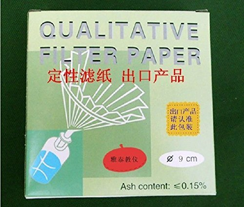 Qualitative Analyse Filter Papier/filting Papier 90 mm, 30–50 & # x3bc; M, 100/Pack Beijing Getty Laboratory Glassware Co.