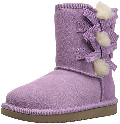 Koolaburra by UGG Girls' K Victoria Short Fashion Boot Lavender Mist 12 Medium US Little Kid