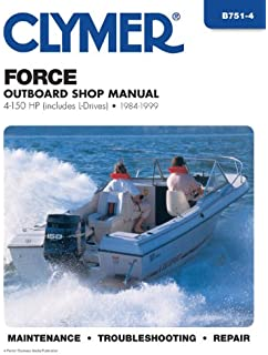 Force outboards all engines 1984 99 seloc marine tune up and clymer force outboard shop manual 4 150 hp includes l drives fandeluxe Gallery