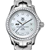 Arizona State University TAG Heuer Watch - Women's Link with Diamond Bezel at M.LaHart
