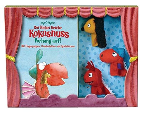 Der kleine Drache Kokosnuss - Vorhang auf! - Set: Pappbilderbuch (Spiel- und Beschäftigungsspaß)