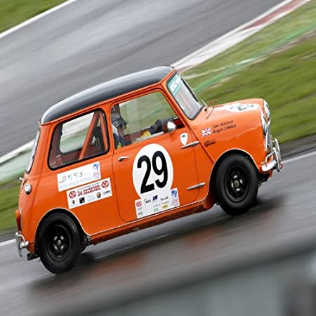 Tim Watson In A Austin Mini Cooper S Racing At The 33 Avd Oldtimer