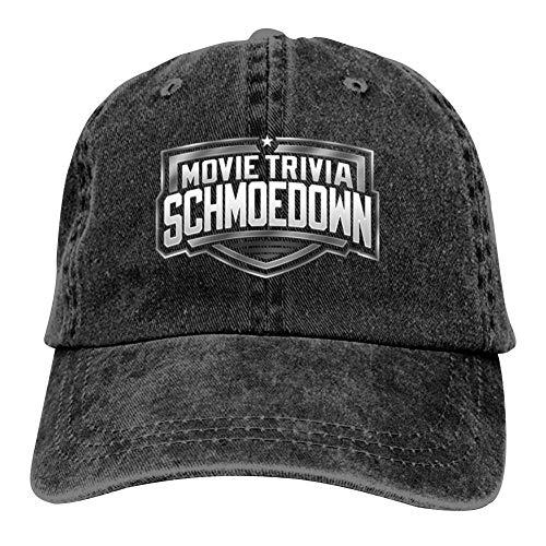 Movie Trivia SCHMOEDOWN Official Logo Unisex Baseball Caps Adjustable Cowboys Hat -