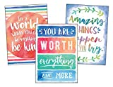 Teacher Created Resources Watercolor Positive Posters Pack (6884)