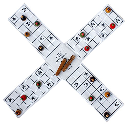 Pachisi / Ludo / Indian ludo / chausar / Indian board, used for sale  Delivered anywhere in USA