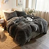 XeGe Plush Shaggy Duvet Cover Luxury Ultra Soft