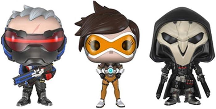 Yingjianjun Modelo Pop! Juego Modelo de Personaje (3 Piezas) Juego Personaje Faraón Caza Muerte Figura de acción Juguete: Amazon.es: Juguetes y juegos
