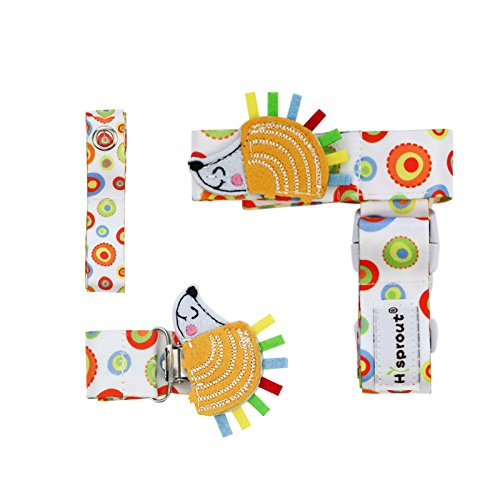 Hi Sprout Stop the Drop 3-in-1 Combo Pack, Pacifier Clip Hol