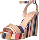 kate spade new york Women's Dellie Wedge Sandal, Multi Color, 7 M US