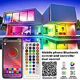 Militisto Rainbow LED Light Strips - App Control