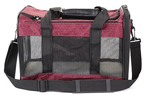 - Sherpa To Go Pet Carrier Raspberry Medium Size Airline Approved