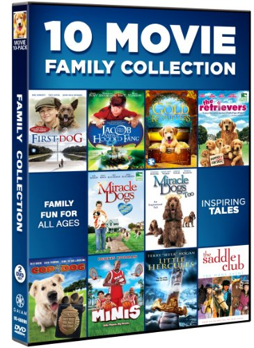 10 Movie Family Collection (Children Dvd Movies)