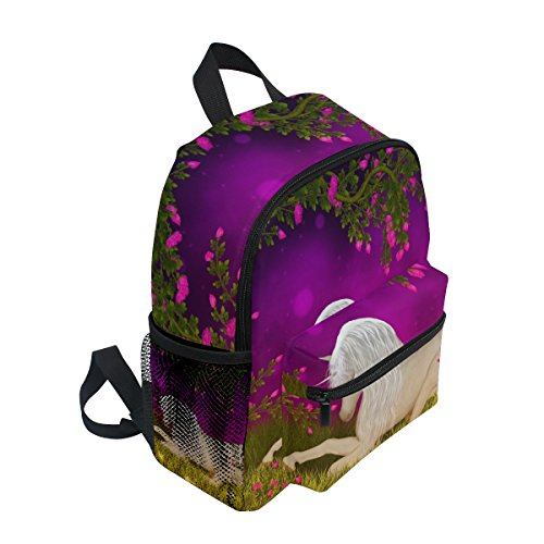 Unicorn Backpack Floral Toddler Bag School Animal Kindergarten for Tree Pre Kids Forest Girls Boy ZZKKO CUB5wxc