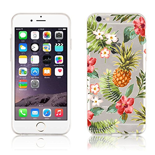 iPhone 6s Case, iPhone 6 Clear Case, JAMMYLIZARD® Invisible Gel Sketch Clear...