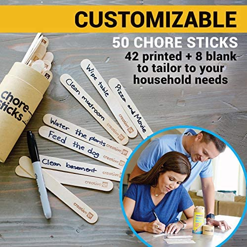 toys, games,  learning, education 7 picture Creative QT Chore Sticks for Kids - Make Chores promotion