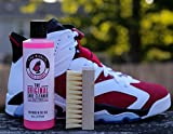 Pink Miracle Shoe Cleaner Kit 8 Oz. Bottle Fabric