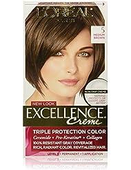 L'Oréal Paris Excellence Créme Permanent Hair Color, 5 Medium Brown