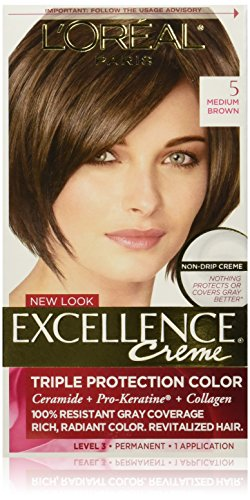 Paris Creme - L'Oréal Paris Excellence Créme Permanent Hair Color, 5 Medium Brown