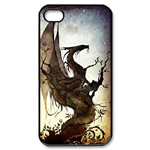 Ancient totem Phone Case For Iphone 4 4S case cover TKOP738526