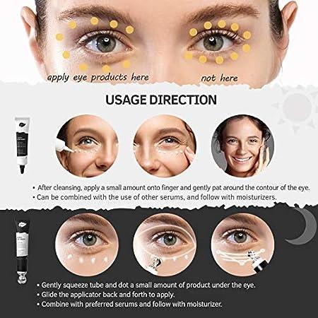 Joliskin Crema Antiarrugas para Ojos - Kit de Contorno para Ojos de Día y de Noche - Trata las Líneas Finas, las Ojeras, la Hinchazón y las Bolsas de Ojos - Crema Antiedad para Hombres y Mujeres-2x15g