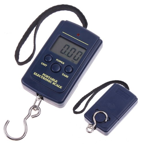20g-40Kg Digital Hanging Luggage Fishing Weight Scale Mini Protable Fish Scale