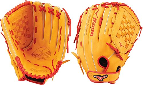 Slowpitch Softball GMVP1400PSES6 Utility 312531 Mitts, Size 14, Cork/Red ()
